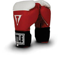 Боксерские перчатки TITLE Classic White Knuckle Amateur Competit
