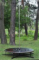 Подиум с пилоном 3,3 метра высотой Ø1,8м для Pole Dance