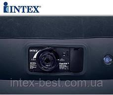 Надувнае кровати Intex 67732 ( 191 х 99 х 43 см.) с втроенным насосом, фото 3