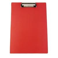 "Папка-планшет, клипборд А4 ПВХ ""4OFFICE"" PVC 4-257 цвет ассорти"