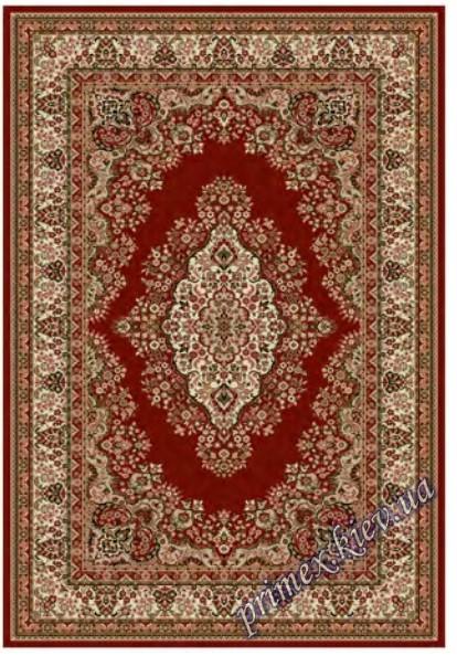 """Синтетический ковер """"Персия""""  Lotos Karat , цвет коричнево-красный"""