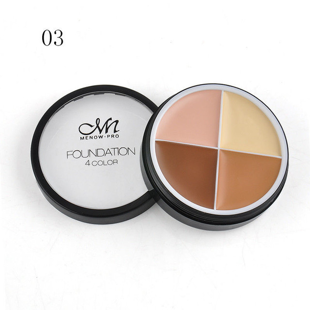 База под макияж Menow Pro Foundation 4 color