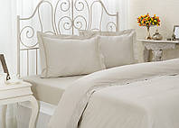 Комплект элитного постельного белья Arletta Grey семейное.