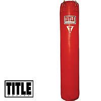 Мешок для тайского бокса TITLE Classic Banana Heavy Bag