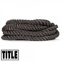 Боевые канаты для работы с партнером TITLE Battle Rope