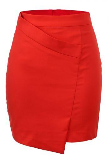 Классическая женская юбка, два цвета GLO-Story
