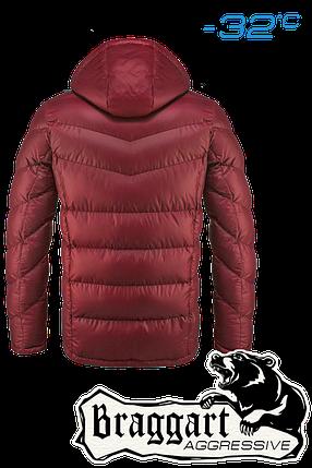 Мужская красная зимняя куртка арт. 2682, фото 2