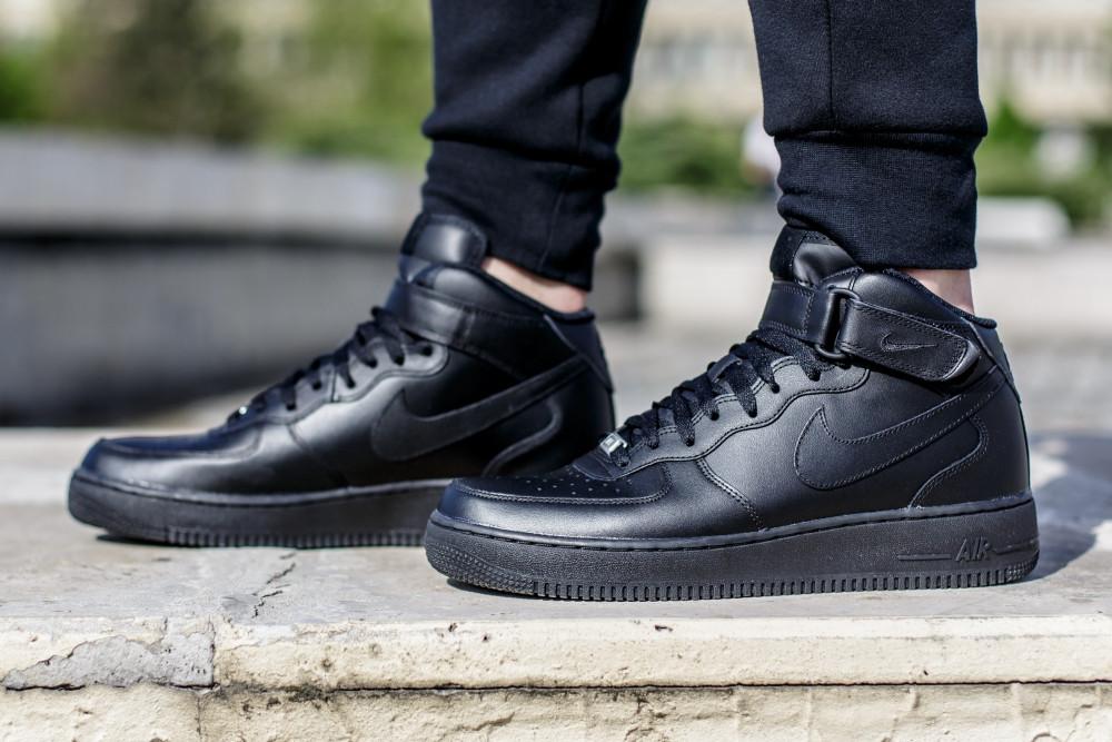 Кроссовки Nike Air Force 1 Mid 07 315123-001 (Оригинал) - Football Mall 02af90785e51a