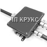 Коробка клемна металева з муфтами ТР для трубної електропроводки