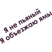 Виниловая наклейка на авто (надпись)