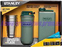 Набор Stanley из 4 рюмок и фляги нержавеющая сталь США