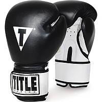 Тренировочные боксерские перчатки TITLE Premier Super Bag Gloves Leather
