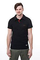 Поло Feel&Fly, черная, магазин мужской одежды