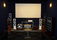 Домашний кинотеатр - проектирование, продажа оборудования, установка.