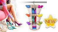 Органайзер для взуття і речей Smart Carousel Organizer (Смарт Карусель), фото 1