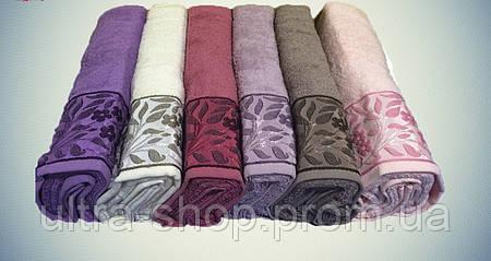 """Полотенца для лица упаковка Cotton Purry """"Sarmasik"""" Турция   хлопок"""