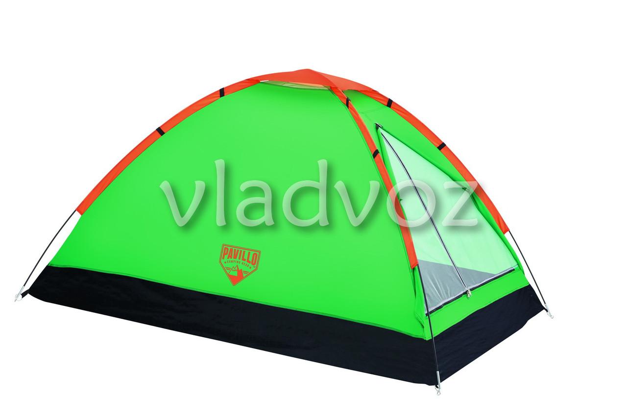 Палатка Plateau салатовая с чехлом 3-х местная