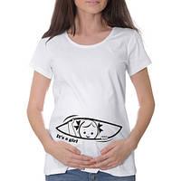 """Женская футболка """"It's a girl"""""""