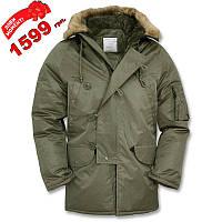 S1030-02 : Куртка-аляска US N3B - олива