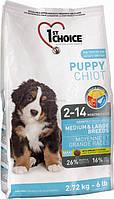 Корм для щенков средних и крупных пород 1st Choice Puppy Medium and Large Breed
