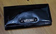 Модный женский кошелек черного цвета