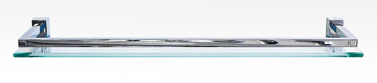 Полочка со стеклом 40 см серия DeLux