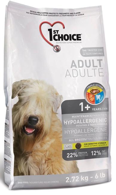 Корм для собак гипоалергенный 1st Choice Hypoallergenic Diet Adult