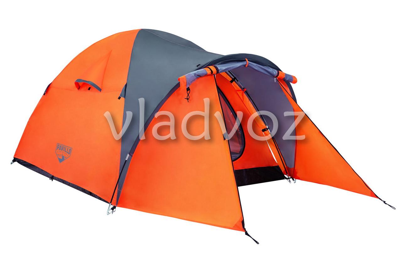 Палатка Navajo оранжевая двух местная с чехлом.
