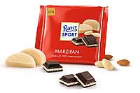 Горький шоколад Ritter Sport Marzipan- с марципаном
