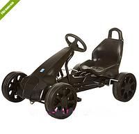Карт веломобиль для детей  M 3106-2 черный ЕВА колеса