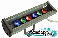 Світильник світлодіодний лінійний C-18-RGB-24v. Лінійний СВІТЛОДІОДНИЙ світильник. Світлодіодний світильник лінійний., фото 1