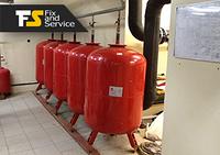 Монтаж расширительных баков для систем отопления