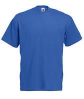 Мужская футболка классическая Fruit of the Loom  Valuweight T 61-036-0 Fruit of the Loom, L(50-52), Марокко, Ярко-синий