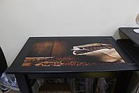 Стол стеклянный обеденный Q1-02, фото 1