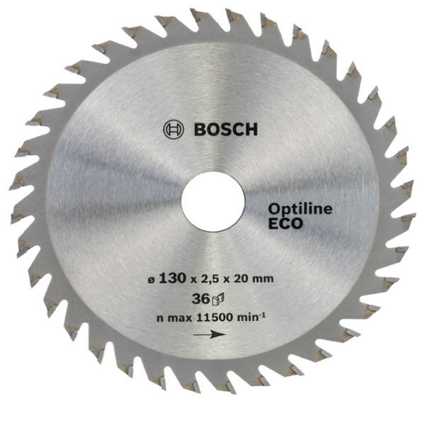 Циркулярный диск Bosch 130x20/16 36 Optiline ECO