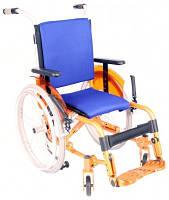 Инвалидная коляска «ADJ Kids» для детей + насос в комплекте!