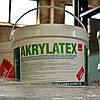 Краска фасадная акриловая Farby KABE AKRYLATEX изолирующая, для цоколя, бетонных ограждений, ведро