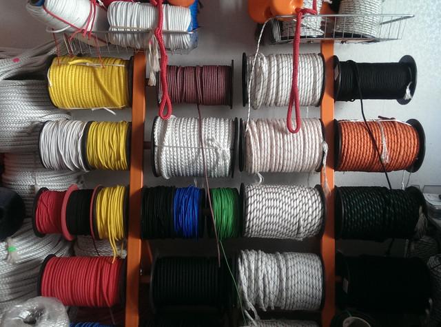 Шнуры, верёвки, канаты разные