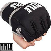 Перчатки для смешанных единоборств с утяжелителем TITLE Platinum Paramount Weighted Gloves