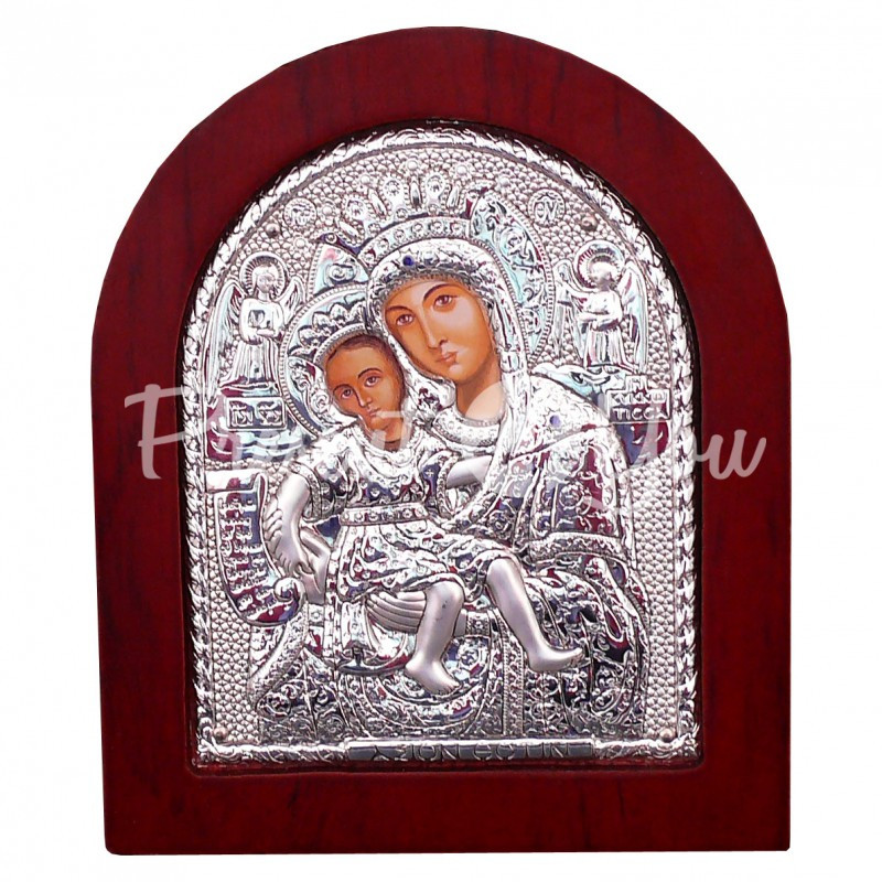 Икона «Мария с Иисусом» 13х11 см.