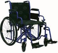 Усиленная инвалидная коляска «Millenium Heavy duty» 50 cm + насос в комплекте!