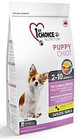 Корм для щенков мини-пород 1st Choice Puppy Toy & Small Breeds