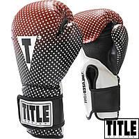 Боксерские перчатки TITLE Infused Foam Insanity Training Gloves