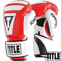 Боксерские перчатки TITLE Infused Foam Ignite I-Tech Gloves