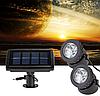 Подводный фонарь на солнечной батарее АМФИБИЯ 2 белый