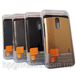 Чехол для Xiaomi RedMi Note 3 - SGP Slim Armor, разные цвета