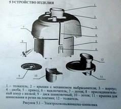 """Электрическая соковыжималка """" Беломо """" СВШПП - 302 садовая , с шинковкой, фото 3"""
