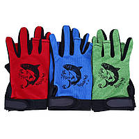 Противоскользящие перчатки для рыбалки. Перчатки Sport