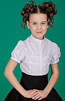 Блузка  для девочки 6 - 11 лет