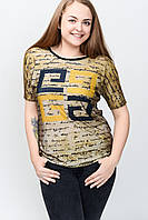 Женская футболка батал